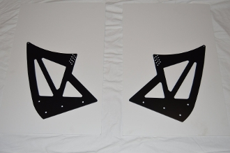 Wing Uprights - Cayman Interseries or Getty Tail Base