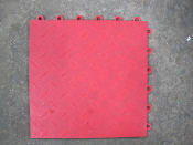 Speedway Garage Tile 50 diamond garage floor- USED