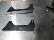 Side Mount Seat Bracket For Bucket Racing Seat (PAIR) - USED