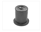 Rubber Rivet Nut | For use mounting Joe Toth Splitters